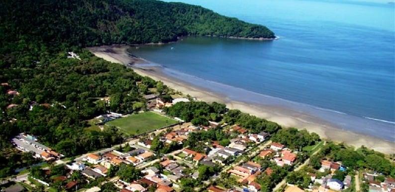 Onde Ficar Em Bertioga: Praia de Indaia