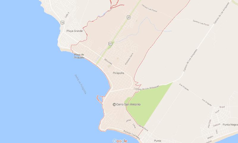 Onde Ficar em Piriápolis: Mapa
