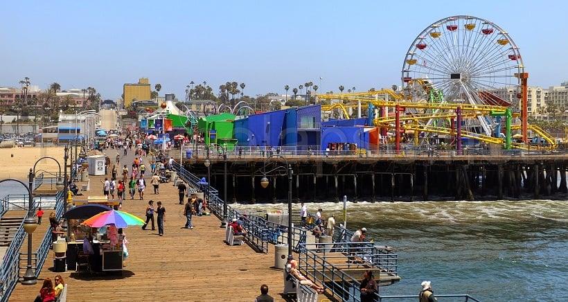 Onde Ficar Em Santa Mônica: Pier