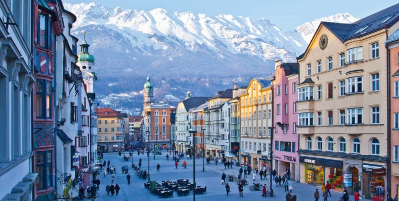 Onde Ficar Em Innsbruck Na Áustria: Centro