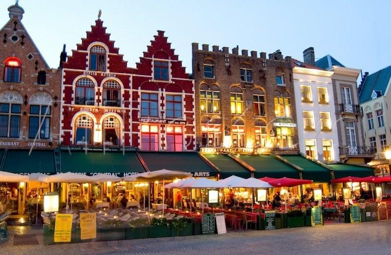 Onde Ficar Em Bruges Na Bélgica: Centro