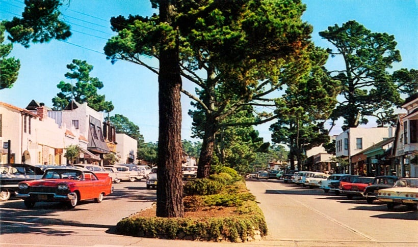 Onde Ficar Em Carmel: proximidades da Ocean Ave