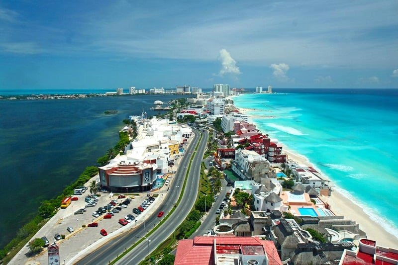 Onde Ficar em Cancún: Zona Hotelera