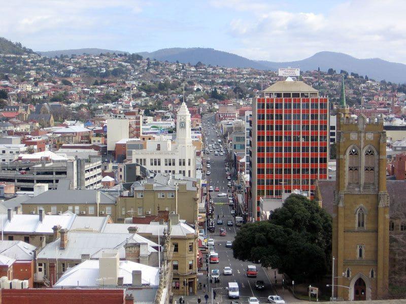 Onde Ficar em Hobart: Centro da Cidade
