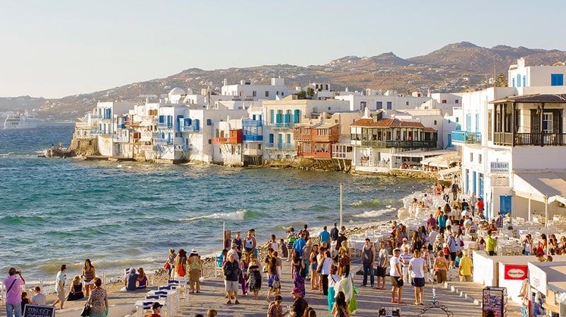Onde Ficar em Mykonos: Chora