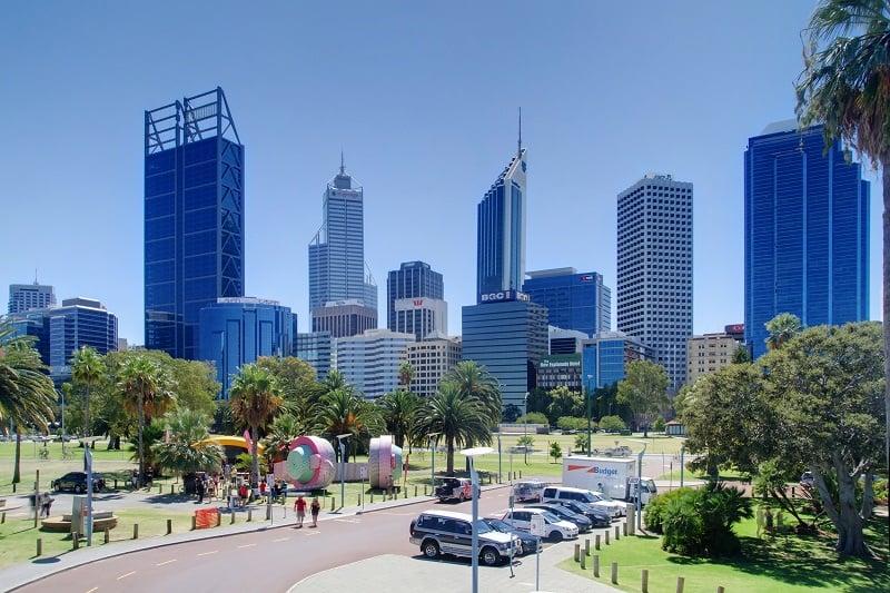 Onde Ficar em Perth: Centro da Cidade