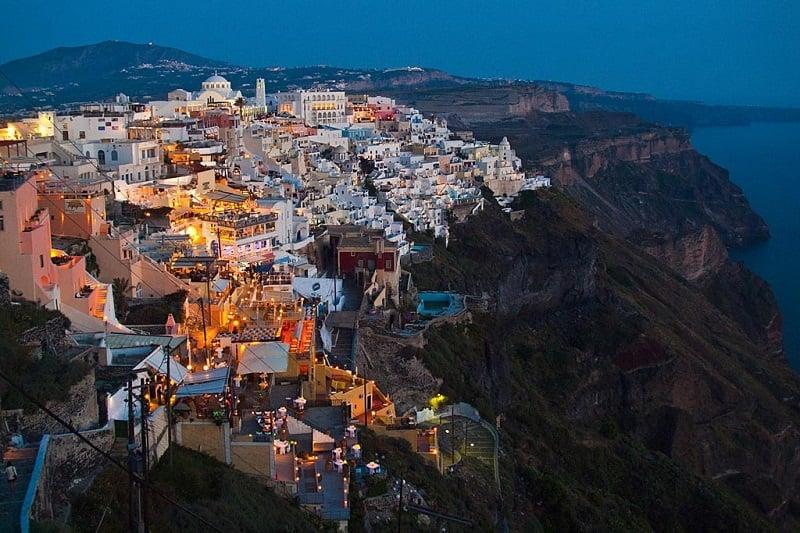 Onde Ficar em Santorini: Fira