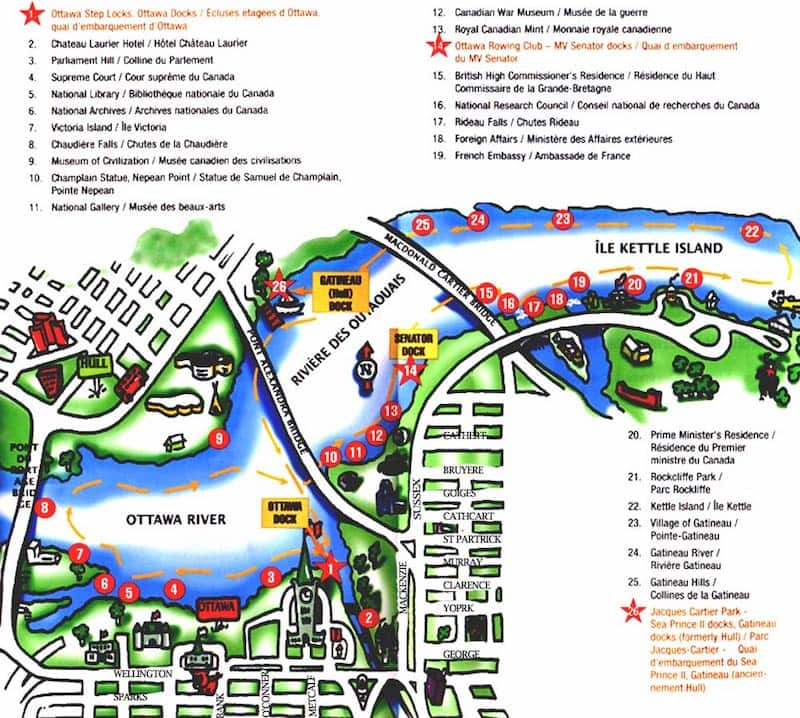 Onde Ficar Em Ottawa: Mapa
