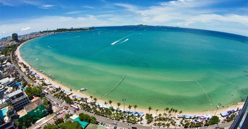 Onde Ficar Em Pattaya: Beach Road