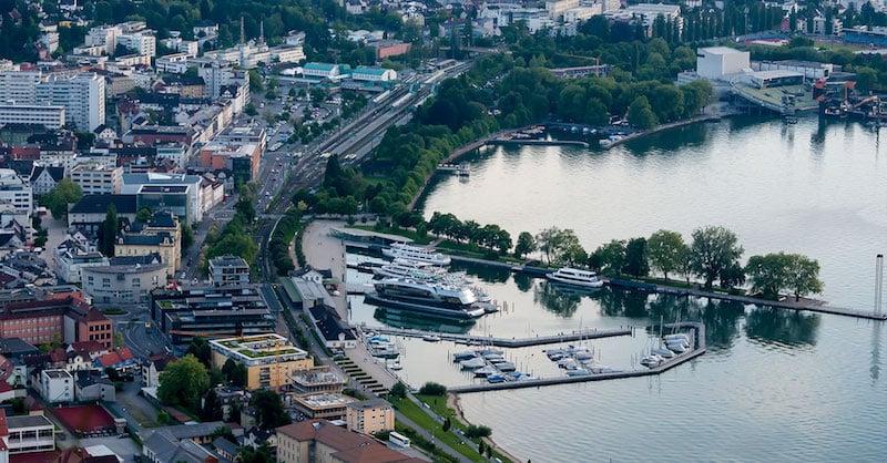 Onde Ficar em Bregenz na Áustria: Centro