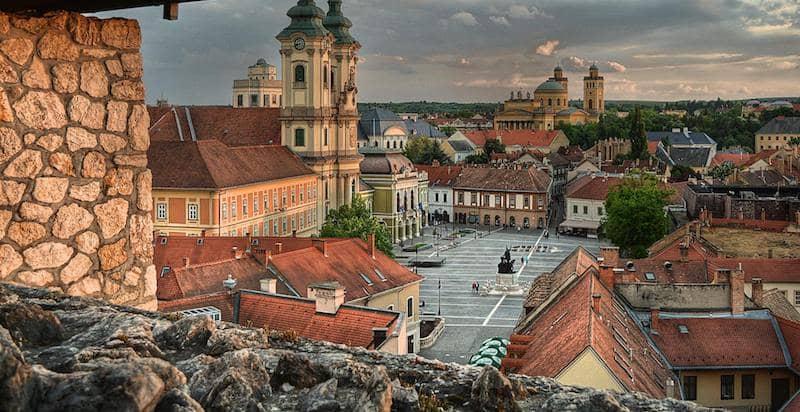 Onde Ficar em Eger na Hungria: Centro