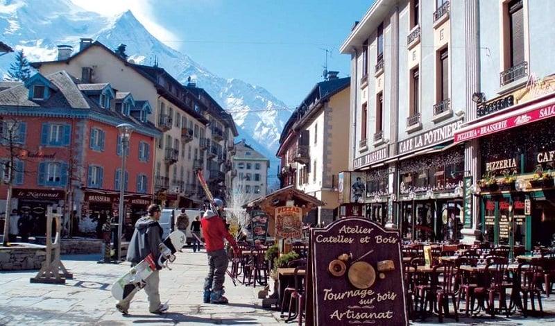 Onde Ficar em Chamonix: Centro da Cidade