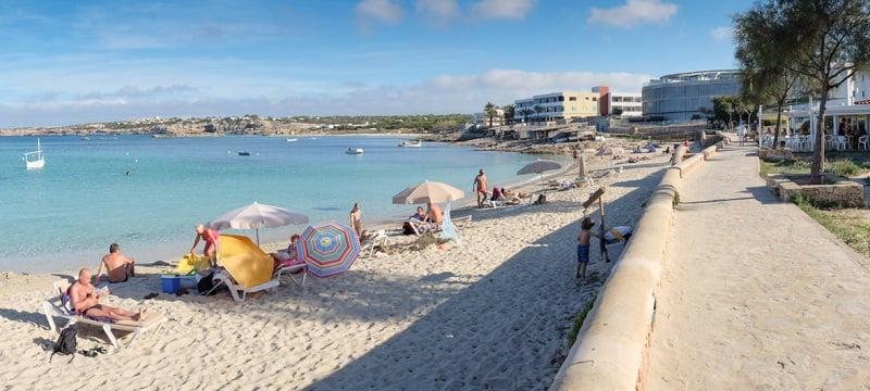 Onde Ficar em Formentera: Es Pujols
