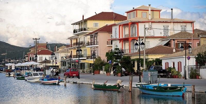 Onde Ficar em Lefkada: Cidade de Lefkada