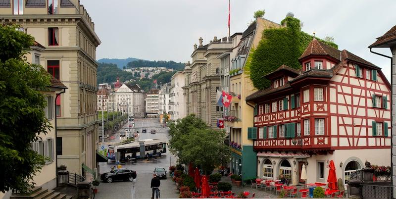 Onde Ficar em Lucerna na Suíça: Centro