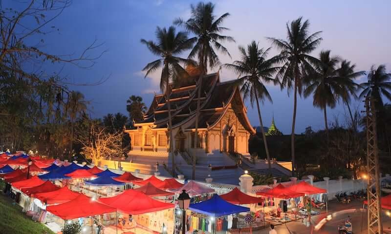 Onde Ficar em Luang Prabang em Laos: Centro