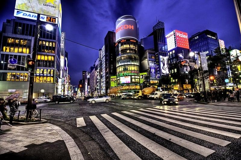 Onde Ficar em Tóquio: Ginza
