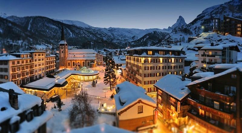 Onde Ficar em Zermatt na Suíça: Centro