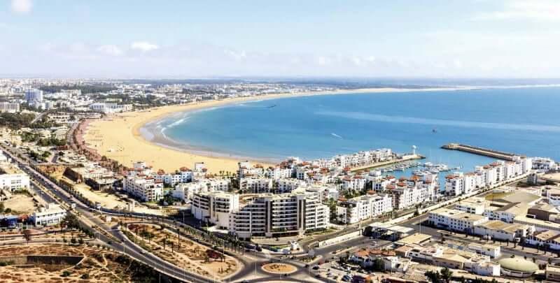 Onde Ficar em Agadir no Marrocos: Próximo a praia