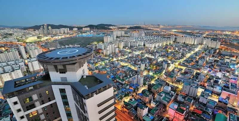 Onde Ficar em Incheon na Coréia do Sul: Centro