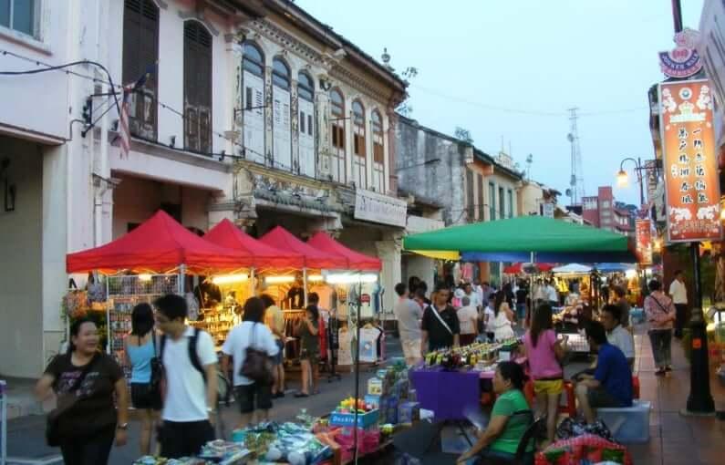Onde Ficar em Malaca na Malásia: Rua Jalan Hang Jebat